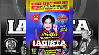 LAGISTA Live Pantai Watukarung Pacitan 23 September 2018