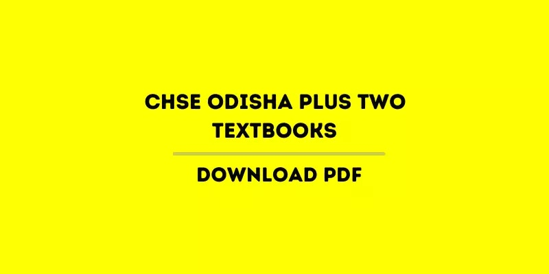 CHSE Odisha Plus Two Sanskrit Books PDF For +2 1st and 2nd Year