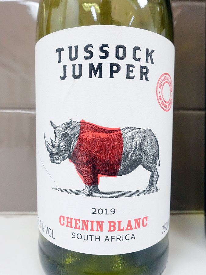 Tussock Jumper Chenin Blanc 2019 (88 pts)