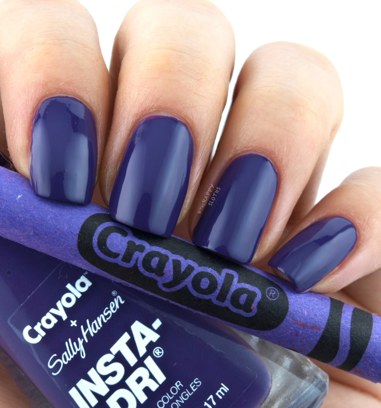 Sally Hansen + Crayola Collection | 508 Vivid Violet: Review and Swatches
