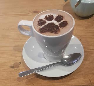 Cat Cafe Edinburgh Hot Chocolate
