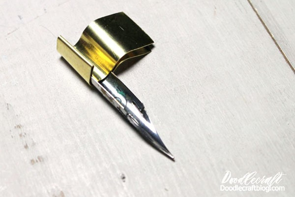 Learn how to make an oblique calligraphy pen holder. This is the ultimate writing utensil for calligraphers. It's an interesting pen that holds the nib at the right angle with ease in the hand. Make a custom one for a left handed calligrapher, a handmade gift or just to add to your collection of gorgeous pens.