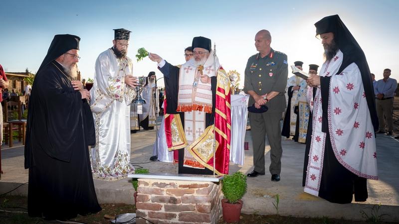 Θεμελιώθηκε ναός στη Νέα Βύσσα προς τιμήν του Οσίου Παϊσίου του Αγιορείτου