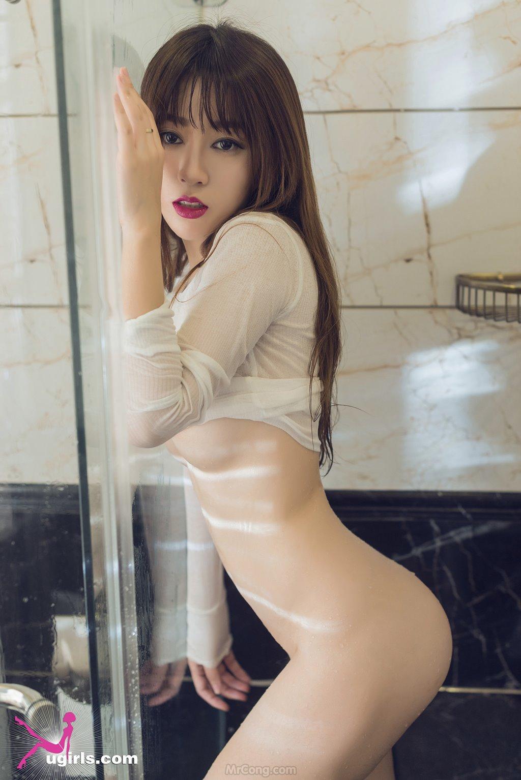 Image MrCong.com-UGIRLS-039-Wang-Yu-Chun-031 in post Ngắm người đẹp Wang Yu Chun (王雨纯) thả dáng sexy trong bộ ảnh UGIRLS 039