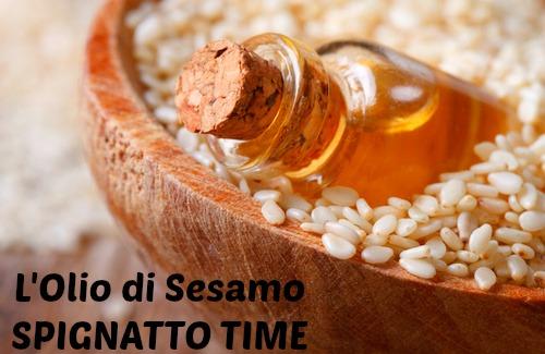spignatto, oli vegetali, olio di sesamo, proprietà cosmetiche dell'olio di sesamo