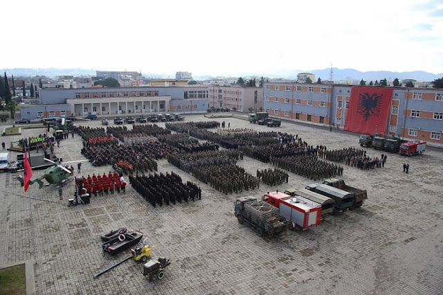 106th Anniversary of Albanian Army