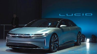 Lucid Motors Air passa pela Tesla com um enorme recorde de alcance EV