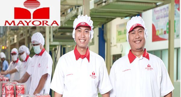 Lowongan Kerja Kantor dan Pabrik SMA SMK D3 S1 PT. Mayora Indah Tbk, Jobs: MDP Sales, Customer Service, Area Sales Promotion SPV, Administrasi, IT Programmer, Etc.