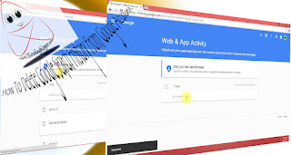 Clear all Google Search History From Google Account