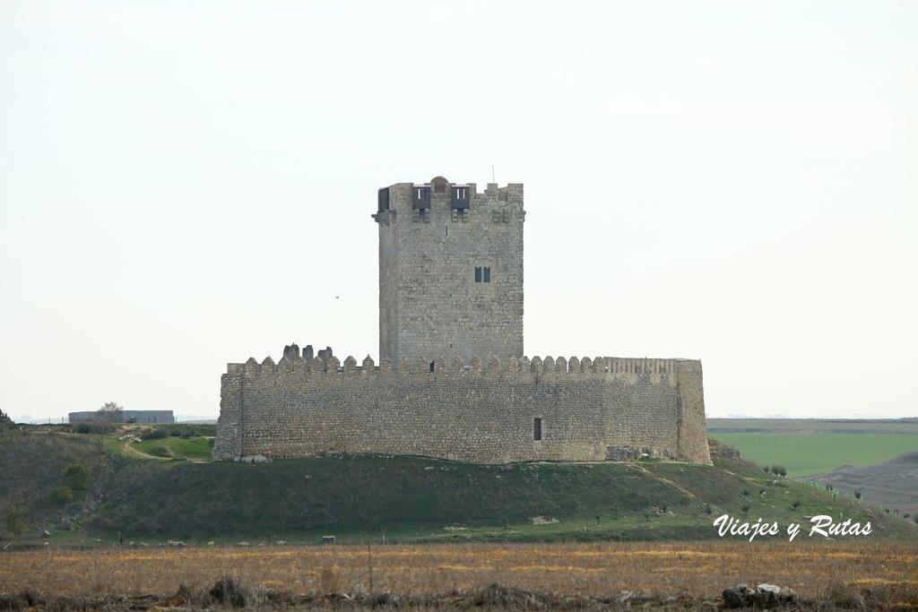 Silueta del castillo de Tiedra