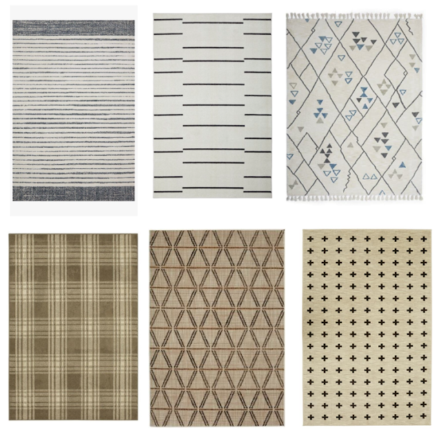 modern rugs for a boy's room