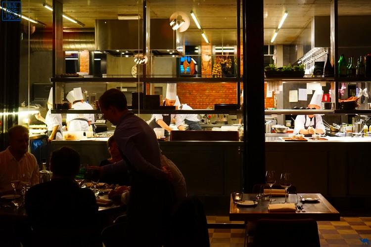Le Chameau Bleu  - Cuisine - Gent Restaurant Volta - Belgique