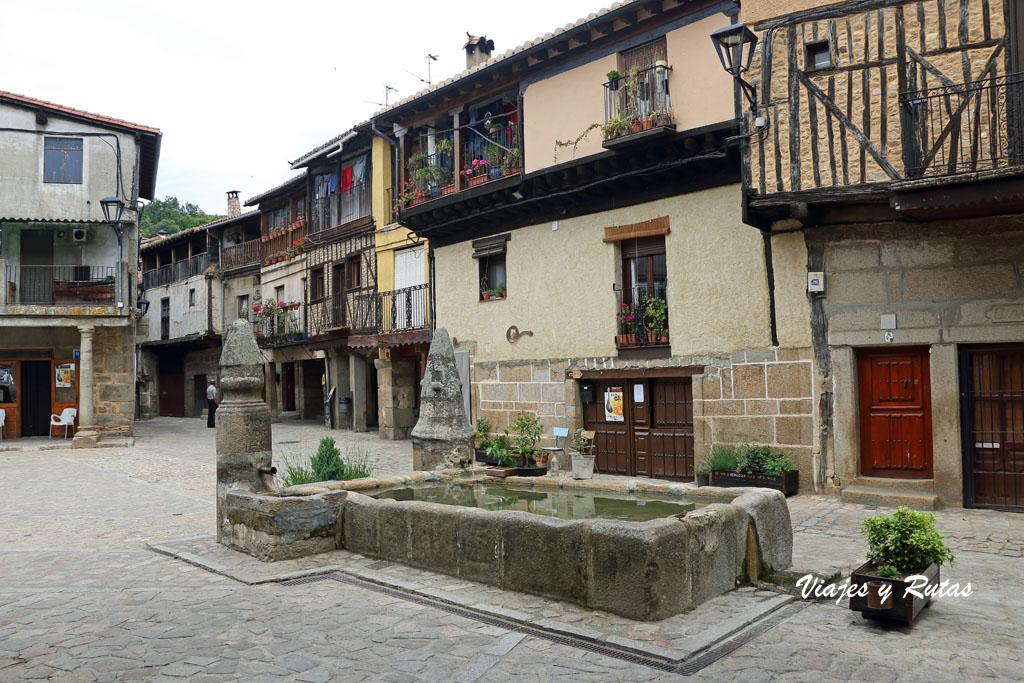 Plaza Mayor de San Martín del Castañar
