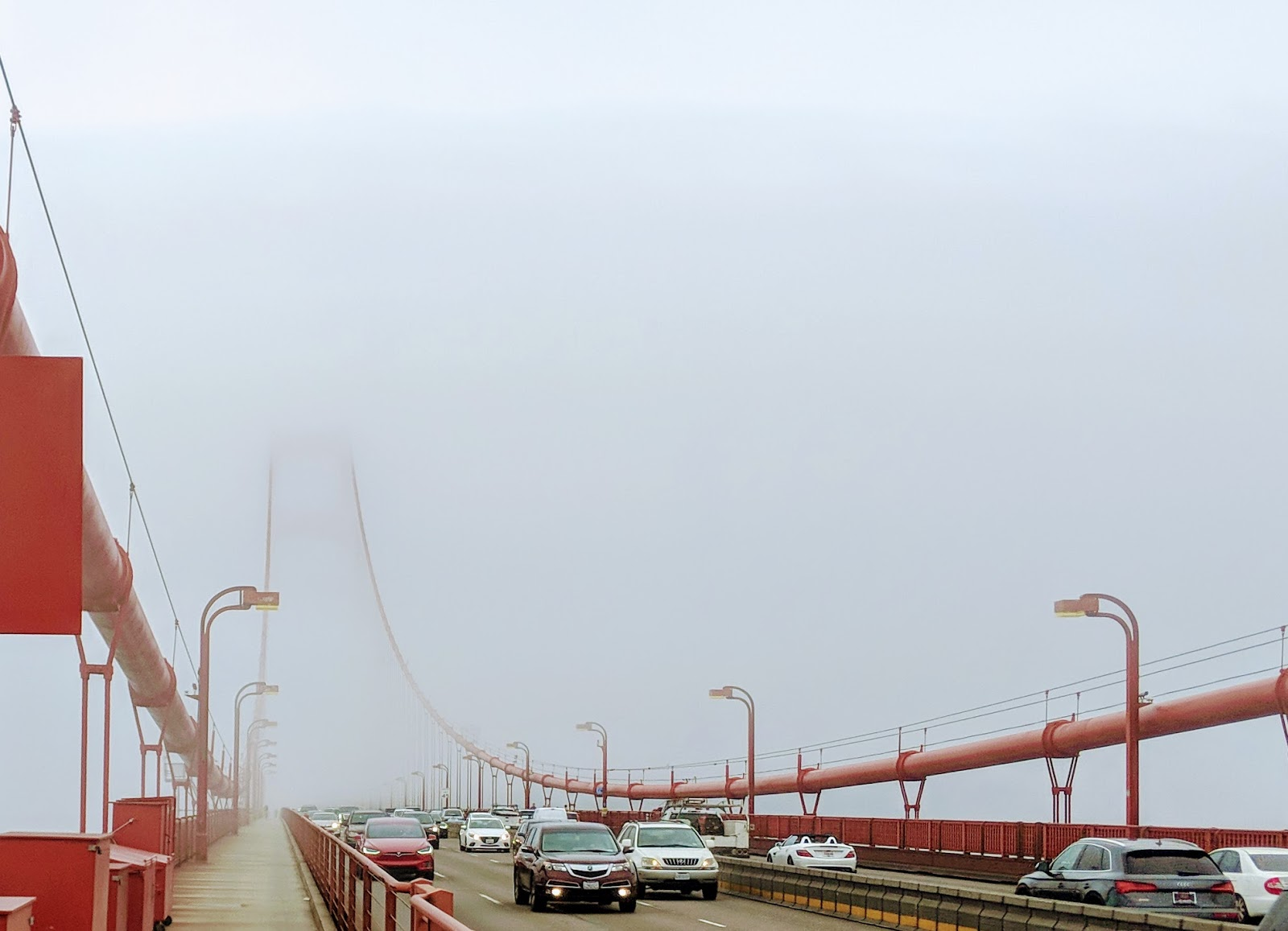 Is it safe to bike commute in foggy weather?