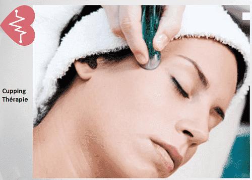 L'esthétique grace aux ventouses  esthétiques ou cupping thérapie visage