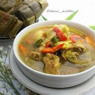 Resep Kuah Asam Ayam By @dewie_kitchen