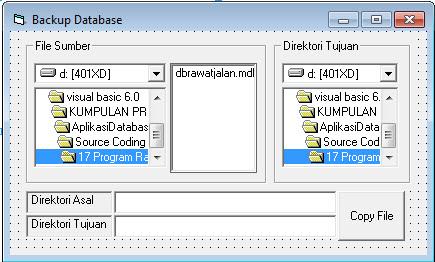 Program rawat jalan Lengkap Di Visual Basic 6.0