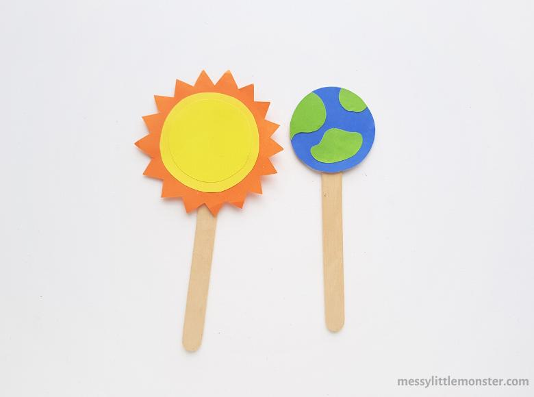 sun and earth craft
