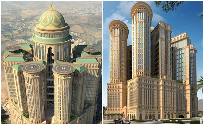 Mecca Presents the World's Largest Hotel Abraj Kudai with 10 thousand rooms