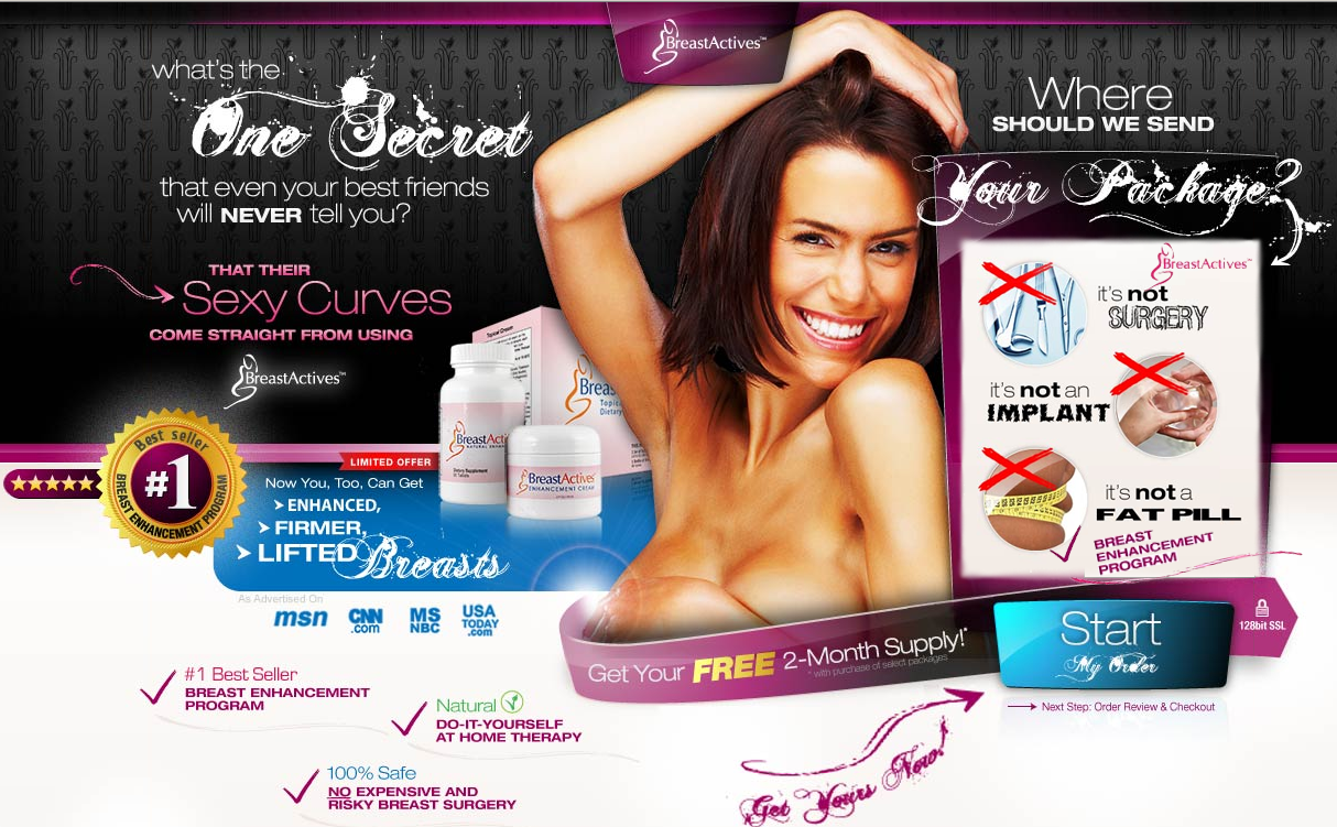 Breast Actives My Honest Review On Breastactives Program Breast