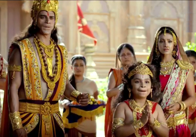 Mahaveera Hanuman serial actors and actresses