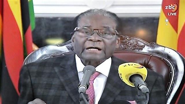Members of Zimbabwe's parliament begin impeachment motion against President Robert Mugabe