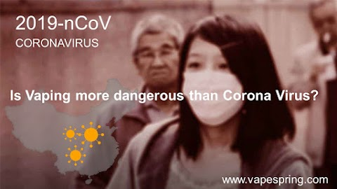 Is Vaping more dangerous than Corona Virus?