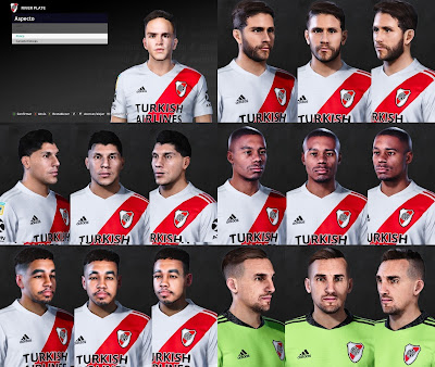 PES 2021 River Plate FacePack 2 by Valentinlgs10