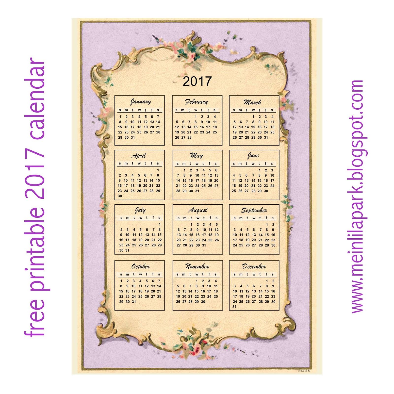 Vintage Designs Calendar 64