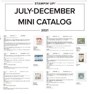 Stampin' Up! July-December 2021 Mini Catalog Project Supply List ~  #stampinup
