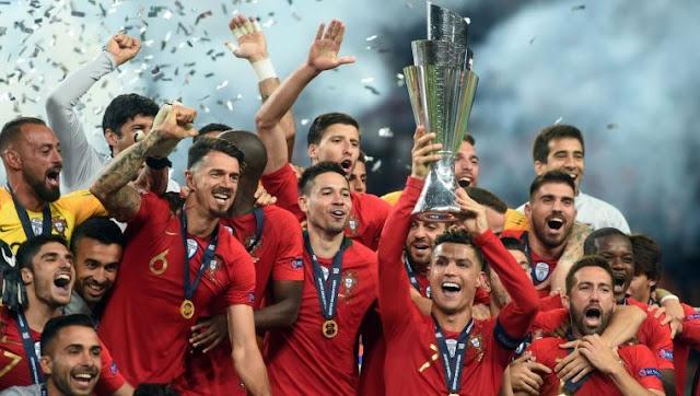 PORTUGAL  VENCE A HOLANDA Y GANA LA PRIMERA LIGA DE LAS NACIONES DE LA UEFA