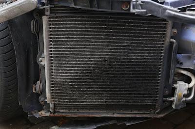 Porsche 911 996 air conditioning condenser failure