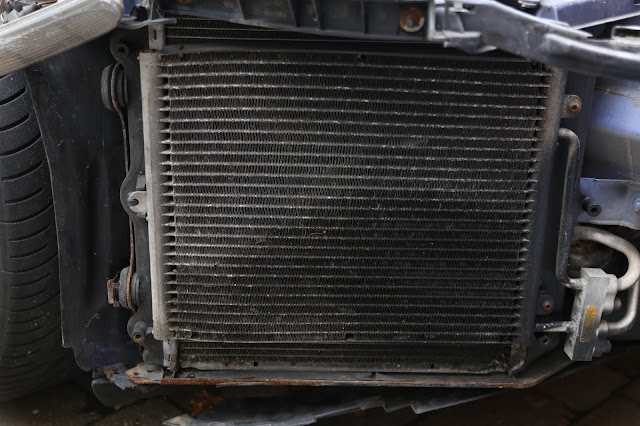 Porsche 911 996 air conditioning condenser failure