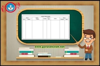 Buku Agenda Surat Keluar Dan Masuk Administrasi Sekolah
