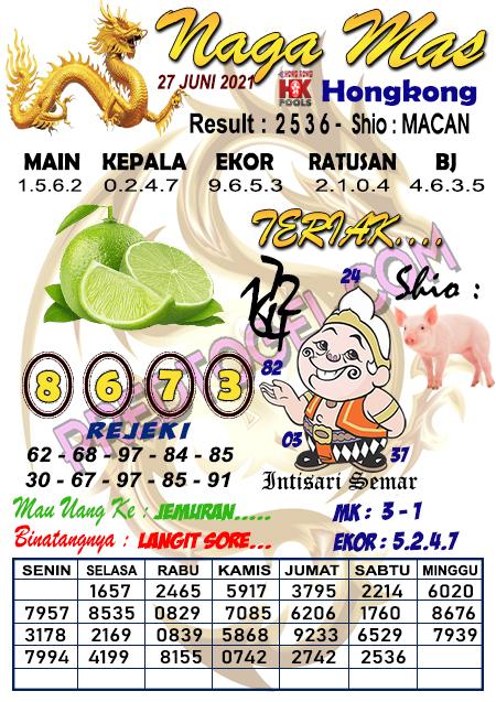 Syair Hk Nagamas Minggu 27 Juni 2021