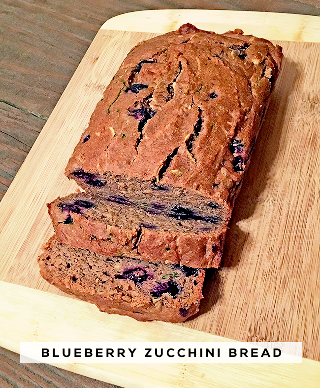 Healthy Blueberry Zucchini Bread (that Everyone Can Eat!) // Bubby and Bean