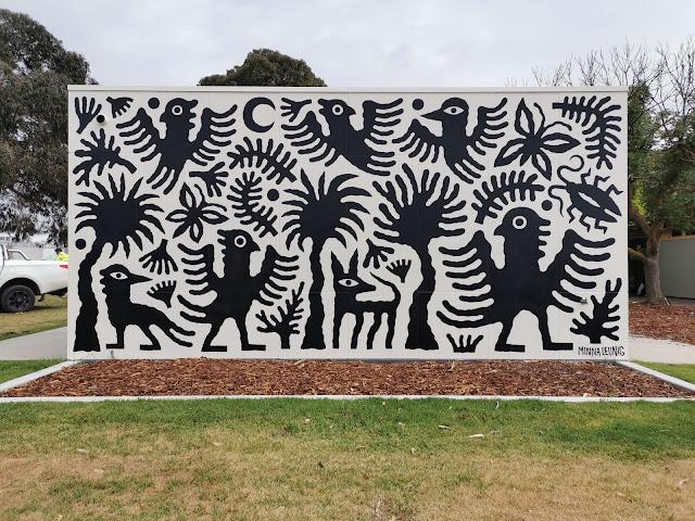 Street Art in Werribee by Minna Leunig