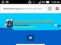 Cek NJOP PBB Online Jakarta