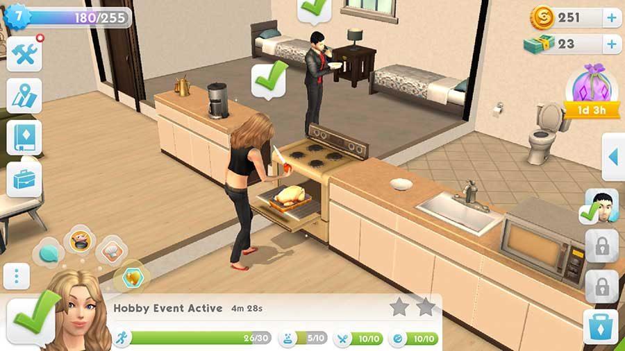 Desain Rumah The Sims Mobile