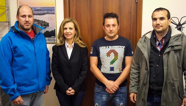 Γιάννενα: Συνάντηση Της Μ. Τζούφη Με Την Ένωση Πυροσβεστικών Υπαλλήλων & Συμβασιούχων Ιωαννίνων