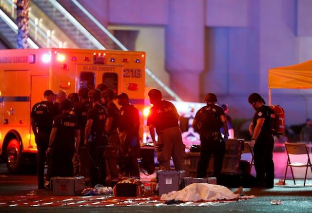 Μακελειό στο ΛΑΣ ΒΕΓΚΑΣ : 20 νεκροί, εκατοντάδες τραυματίες - Νεκρός ο δράστης