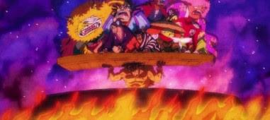 One Piece: Episódio 973 – Condenado a Ferver. A Hora Desesperadora de Oden.