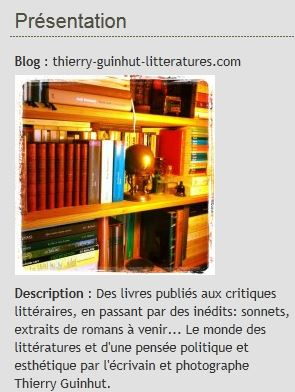 Blog photo et écriture