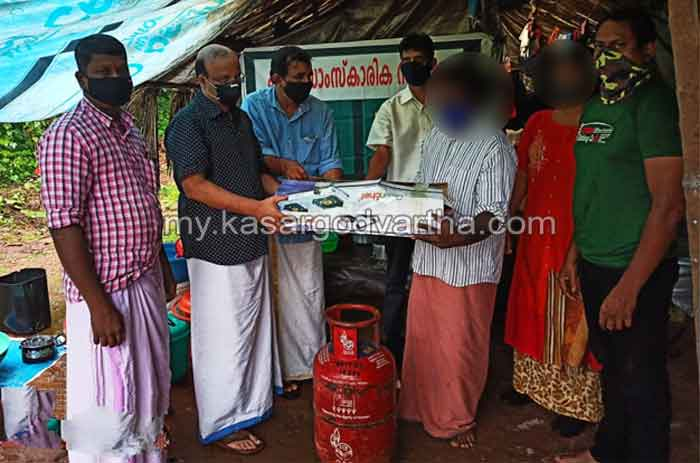 Kissa Cultural Integration Kanhangad provided cooking gas connection and stove for needed