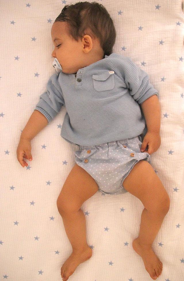 DIY Tutorial y patrones gratis CUBREPAÑAL o BRAGUITAS de bebe