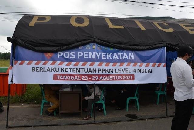 PPKM Level 4 Kota Jambi, Gubernur Al Haris: Pos Penyekatan Adakan Vaksinasi