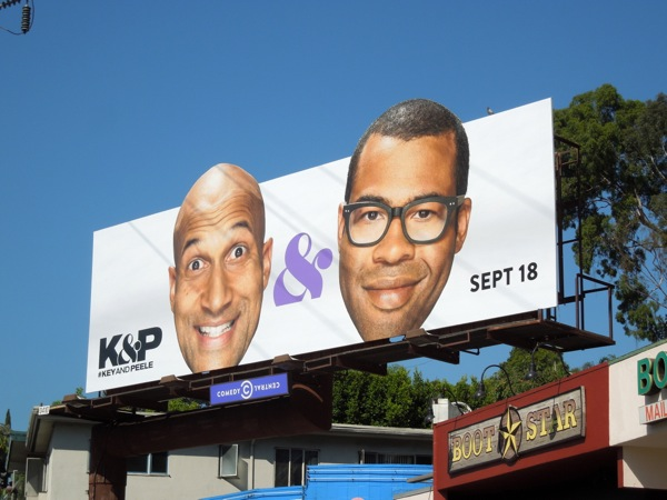 Key Peele season 3 extension billboard