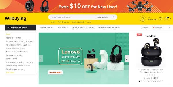 Wiibuying - Uma nova loja com bons produtos e preços!