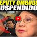 DEPUTY OMBUDSMAN SUSPENDIDO NA!