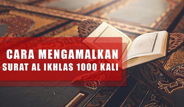 Amalan Membaca Surah Al Ikhlas 1000x Untuk Kekayaan, Doa Pembuka Rezeki Paling Manjur, Begini Caranya